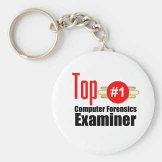 Top Computer Forensics Examiner Keychain