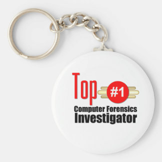 Top Computer Forensics Investigator Keychain