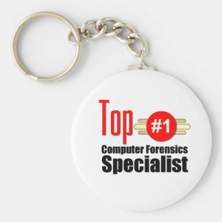 Top Computer Forensics Specialist Keychain