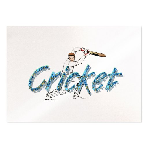 TOP Cricket Business Card