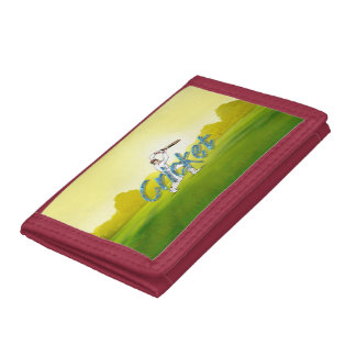 TOP Cricket Trifold Wallets