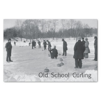 TOP Curling Old School Tissue Paper