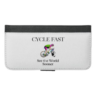 TOP Cycle Fast iPhone 6/6s Plus Wallet Case