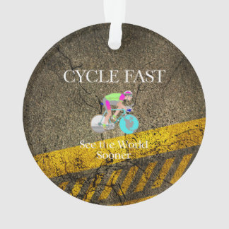 TOP Cycle Fast Ornament