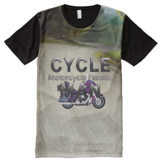 TOP Cycle Man All-Over Print T-Shirt