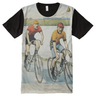 TOP Cycling Old School All-Over Print T-Shirt