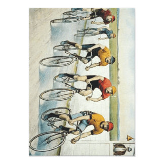 TOP Cycling Old School Custom Invitations