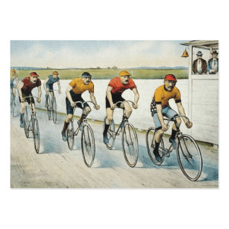 TOP Cycling Old School Pack Of Chubby Business Cards