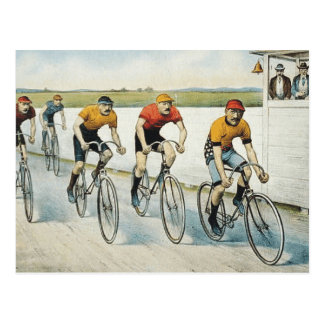 TOP Cycling Old School Postcard