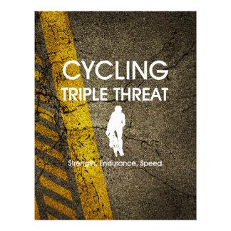TOP Cycling Triple Threat 21.5 Cm X 28 Cm Flyer