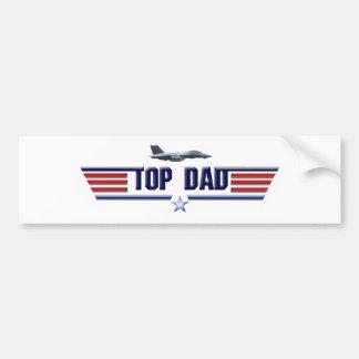 Top Dad Logo Bumper Sticker