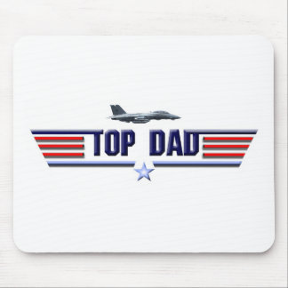 Top Dad Logo Mouse Pad