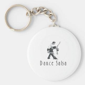 TOP Dance Salsa Key Ring