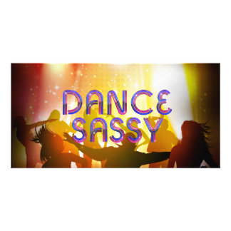 TOP Dance Sassy Picture Card