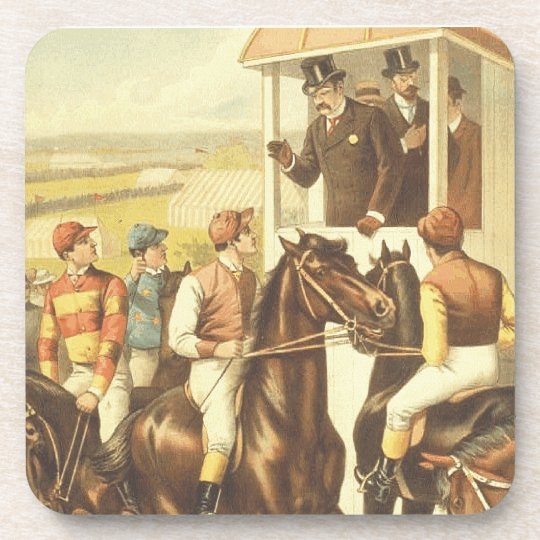 TOP Derby Day Beverage Coasters