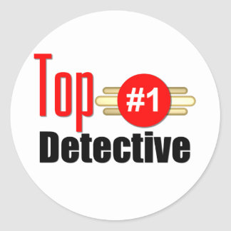Top Detective Sticker