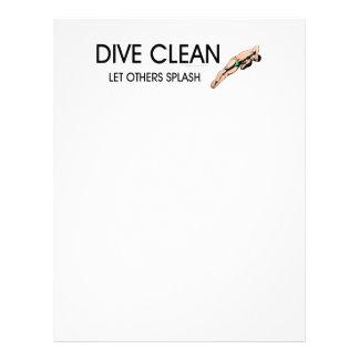 TOP Dive Clean Custom Flyer