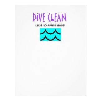 TOP Dive Clean Flyer Design