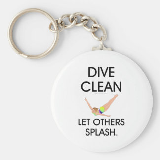 TOP Dive Clean Key Ring