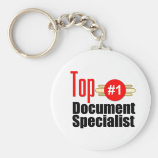Top Document Specialist Key Chain