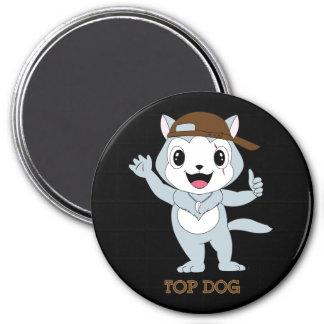Top Dog™ 7.5 Cm Round Magnet