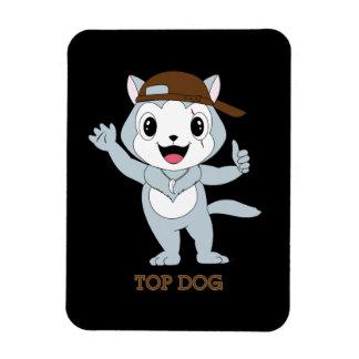Top Dog™ Rectangular Photo Magnet