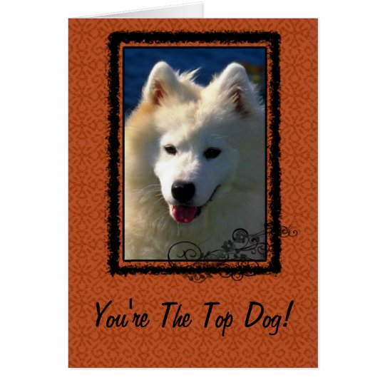 Top Dog Greeting Card