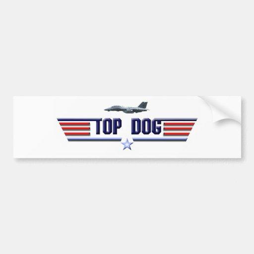 Top Dog Logo Bumper Sticker