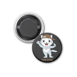 Top Dog™ 3 Cm Round Magnet