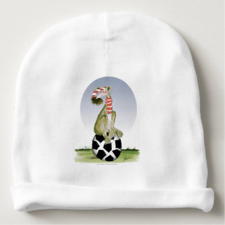 top dog reds soccer baby beanie