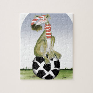 top dog reds soccer jigsaw puzzle