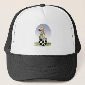 top dog reds soccer trucker hat