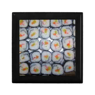 Top down View of Sushi Trinket Boxes