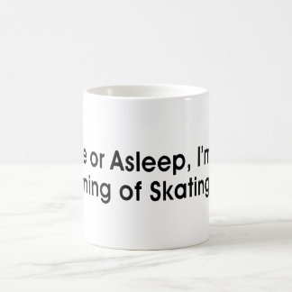 TOP Dreaming of Skating Coffee Mug