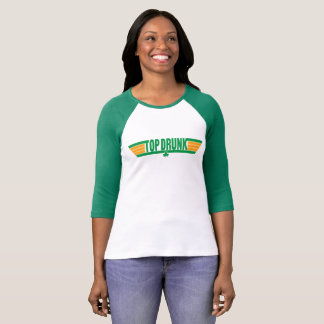 Top Drunk Retro St. Patrick's Day Shirt