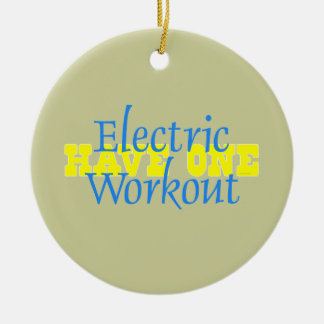 TOP Electric Workout Ornament