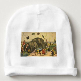 TOP Elephant Acrobats Baby Beanie