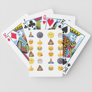 Top emoji collection bicycle poker cards