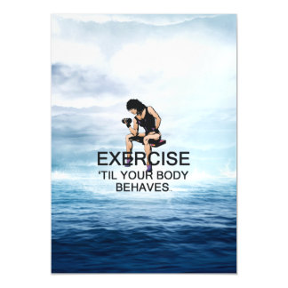 TOP Exercise Til Body Behaves Magnetic Invitations