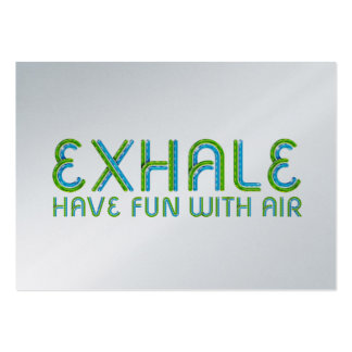 TOP Exhale Business Card