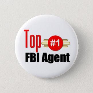 Top FBI Agent 6 Cm Round Badge