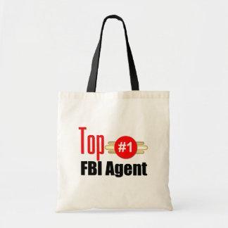 Top FBI Agent Budget Tote Bag