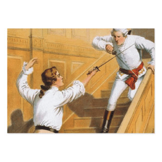 TOP Fencing On-Guard Pack Of Chubby Business Cards