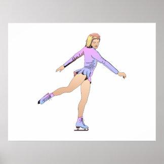 TOP Figure Skating Girl Poster