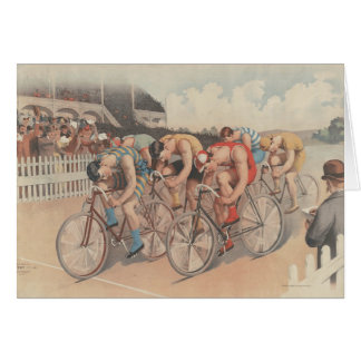 TOP Finish Line Greeting Card