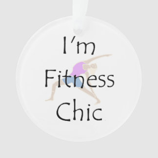 TOP Fitness Chic Ornament