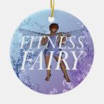 TOP Fitness Fairy Christmas Tree Ornaments