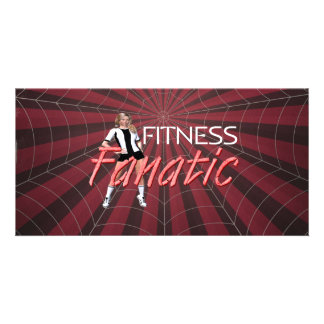 TOP Fitness Fanatic Customized Photo Card