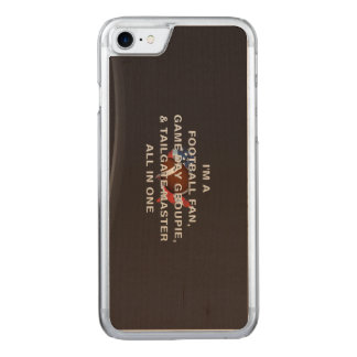 TOP Football All in One Carved iPhone 8/7 Case