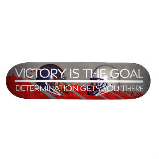 TOP Football Victory Slogan Skate Deck